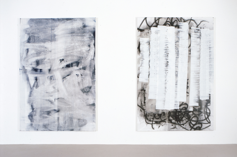 Christopher Wool, Installation view Camden Arts Centre, 2004. Courtesy the artist and Camden Arts Centre.