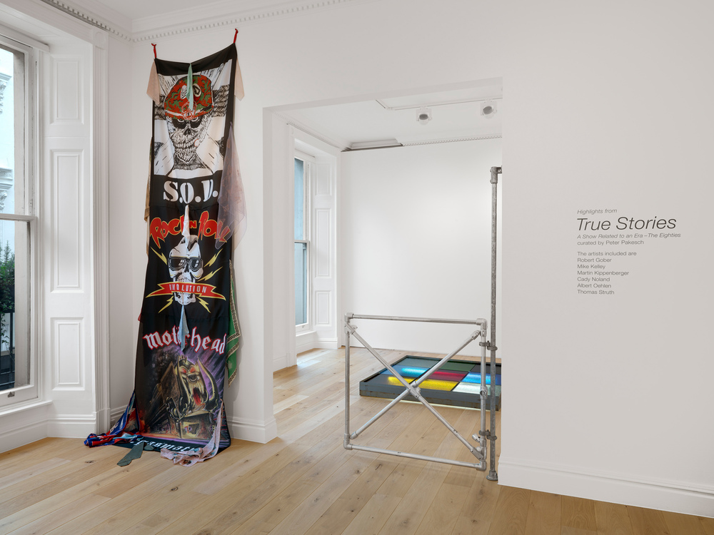 TRUE STORIES<br>A SHOW RELATED TO AN ERA - THE EIGHTIES: HIGHLIGHTS - Galerie Max Hetzler