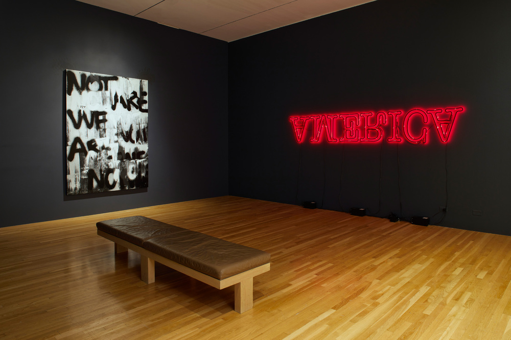 Installation view: To Be Determined at Dallas Museum of Art, 2020, photo: John Smith, courtesy of Dallas Museum of Art
