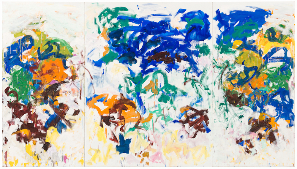 Joan Mitchell, Bracket, 1989. The Doris and Donald Fisher Collection at the San Francisco Museum of Modern Art. © Estate of Joan Mitchell. Photo: Katherine Du Tiel.