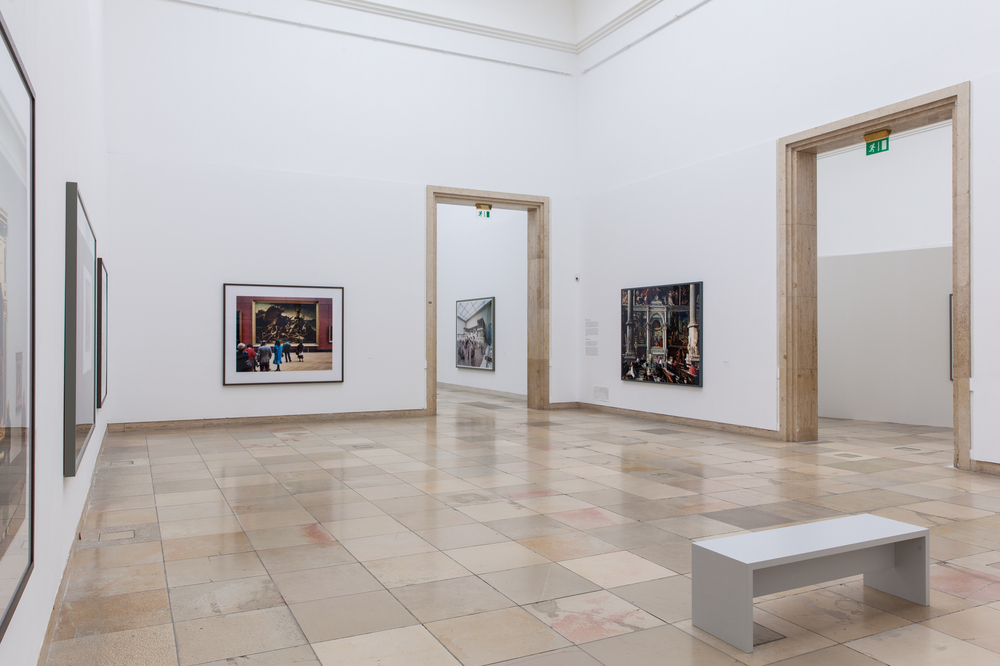 Thomas Struth, installation view, Figure Ground, Haus der Kunst, Munich, 2017. Courtesy the artist and Haus der Kunst Munich. © Maximilian Geuter