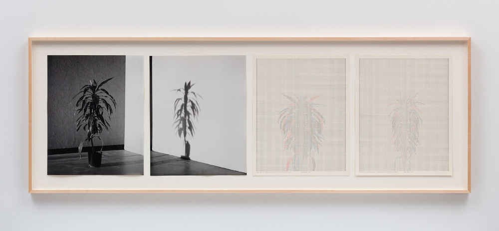 Charles Gaines, Shadow IX, Set 3, 1980, © Charles Gaines, photo: Fredrik Nilsen, courtesy of the artist